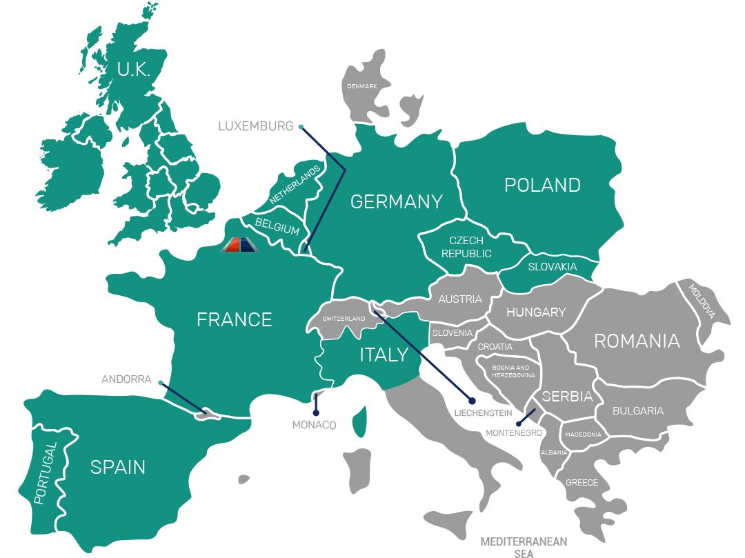 Nos axes internationaux